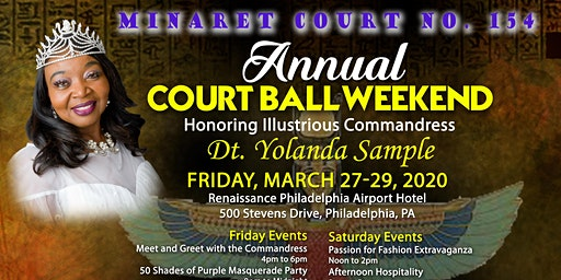 Minaret Court Annual Ball Weekend