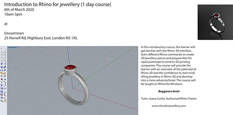 3D Modelling for Jewellery tickets