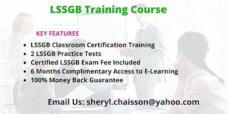 Lean Six Sigma Green Belt Certification Training in Bakersfield, CA tickets