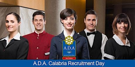 ADA Calabria Recruitment Day biglietti
