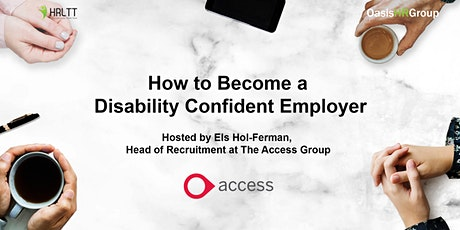 HRLTT - How to Become a Disability Confident Employer tickets