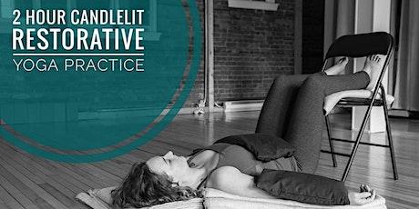 GROW - Candlelit Restorative Yoga tickets