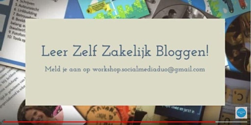 Workshop Beter Zakelijk Bloggen Maart 2020