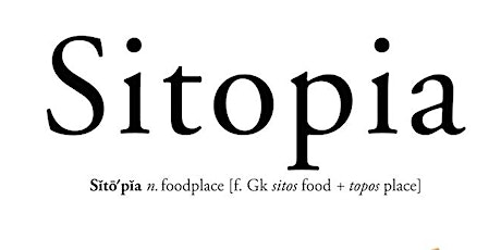 Sitopia: How Food Can Save the World tickets
