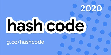 Hash Code 2020 tickets