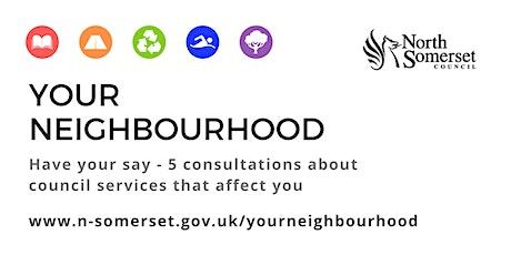 Your Neighbourhood public consultation - Winscombe & Sandford tickets