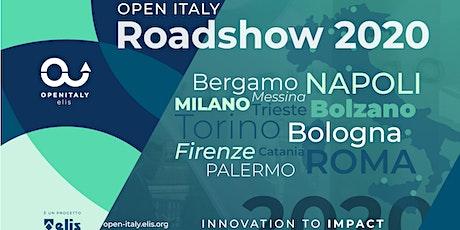 OPEN ITALY | ROADSHOW 2020 | TIM WCAP | Catania biglietti