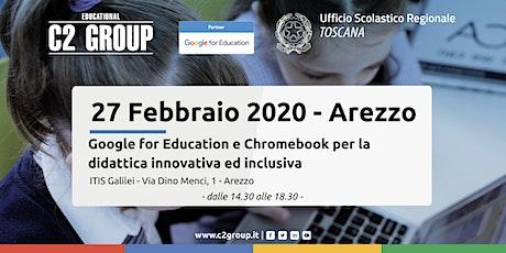 Google for Education e Chromebook per la didattica innovativa ed inclusiva biglietti