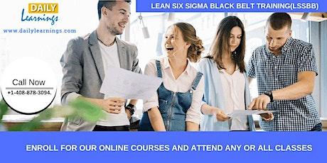 Lean Six Sigma Black Belt Certification Training  in Boston tickets