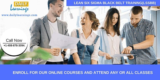 Lean Six Sigma Black Belt Certification Training  in Boston