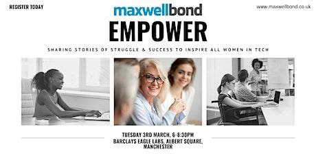 EMPOWER: Celebrating All Women in Tech tickets