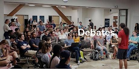 Sample debate tickets