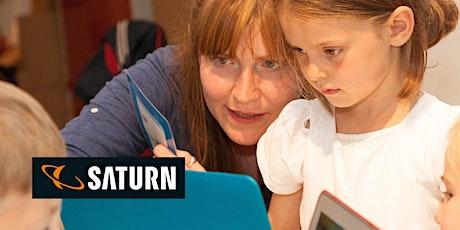 Creative Coding @Saturn mit Scratch für die ganze Familie Tickets