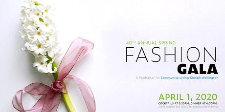 POSTPONED - 40th Annual Spring Fashion Gala tickets