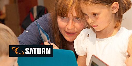 Creative Coding @Saturn mit Scratch für die ganze Familie