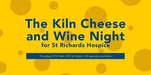 Cheese and Wine Night for St Richards Hospice
