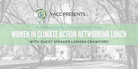 Women in Climate Action Networking Lunch tickets