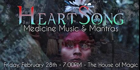 HEARTSONG Ecstatic Medicine & Mantra Night tickets