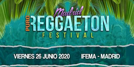 MADRID PURO REGGAETÓN FESTIVAL 2020 entradas