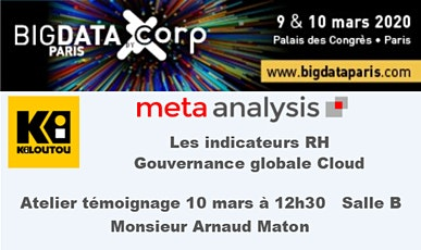 Big Data 2020 Atelier Kiloutou Gouvernance Global Cloud tickets