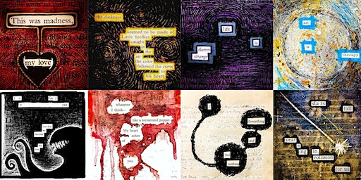 Blackout Poetry Workshop with Michael Nyers
