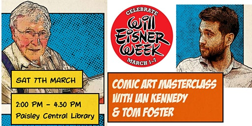 Comic art masterclass with Ian Kennedy & Tom Foster