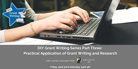 DIY Grant Writing Series Part Three tickets