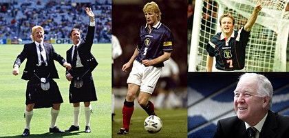 The Scotland Connection - Colin Hendry, Kevin Gallacher and Craig Brown