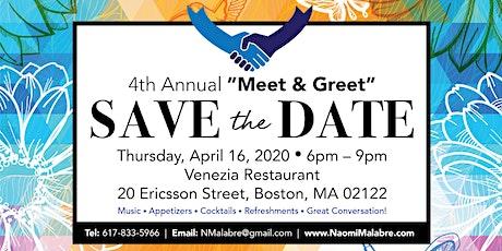 4th Annual Meet & Greet tickets