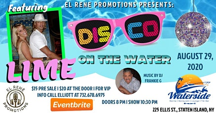 Disco On The Water With Lime tickets