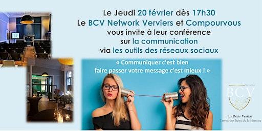 Conférence sur la communication  via les outils des réseaux sociaux