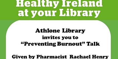 Preventing Burnout Talk by Pharmacist Rachael Henry tickets