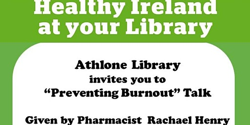 Preventing Burnout Talk by Pharmacist Rachael Henry