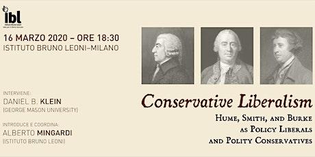 Conservative Liberalism biglietti