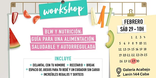 BLW Y NUTRICIÓN: Guia para una alimentación saludable y autorregulada