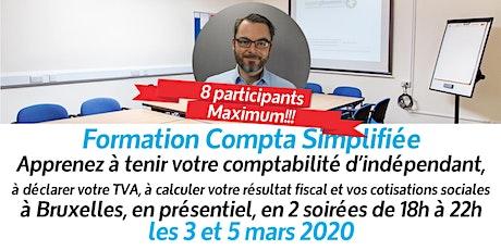 Formation à la comptabilité des entreprises individuelles (Bruxelles) billets