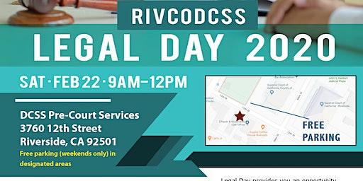 RivCoDCSS Legal Day 2020