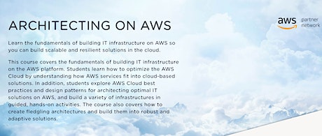 Architecting on AWS tickets