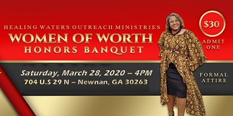 Women of Worth Honors Banquet tickets