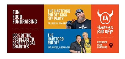 Hartford Rib Off Kick Off Party 6/19/2020 6:00pm - 9:00pm