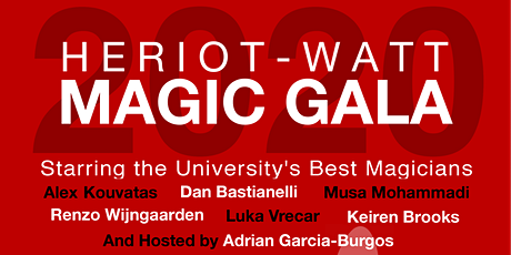 Heriot-Watt Magic Gala 2020 tickets