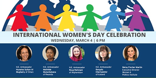 International Women's Day Celebration with Female Ambassadors to the U.S.