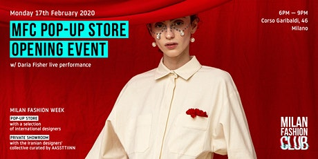MFC Pop-Up Store | Milan Fashion Week biglietti