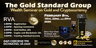 GSG Wealth Seminar on Gold and Cryptocurrency