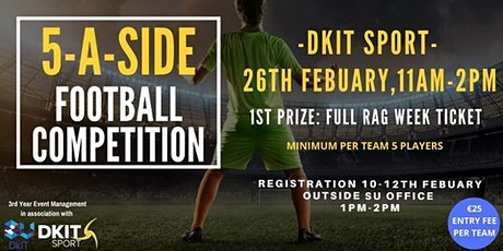 DKIT 5-A-Side Football Tournament tickets
