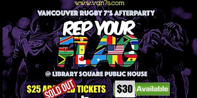Vancouver Rugby 7s  Afterparty 2020