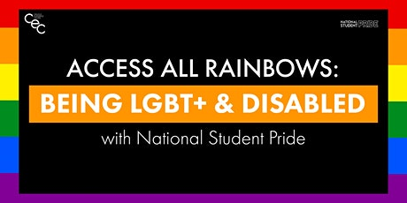 Access All Rainbows: Being LGBT+ & Disabled – with National Student Pride tickets