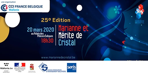 Marianne de Cristal - 25° Edition - Soirée de Gala - Palais des Prince-Evêques de Liège