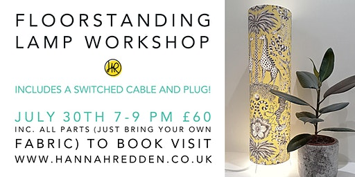 FLOOR STANDING LAMP Workshop