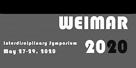 """""""Weimar 20/20"""" Symposium tickets"""
